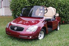 Cherry Buick golf cart