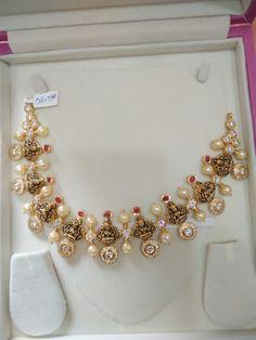 Gold Jewellery Design, Gold Jewelry, Jewelery, Indian Wedding Jewelry, Bridal Jewelry, Trendy Jewelry, Fashion Jewelry, Terracotta Jewellery, India Jewelry