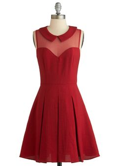 I just got this, the price was right  Served on Skates Dress, #ModCloth