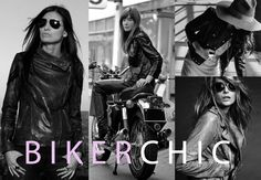 Biker Chic Lookbook