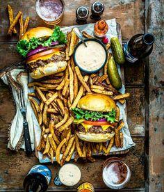 Burger. Fries. Beer. Like a boss! Blog: http://ift.tt/1vCV6pv Courtesy: Dennis the Prescott   @dennistheprescott #grill #grilling #bbq #barbecue #parrilla #asado #food #foodporn #newyearseve #nye #meat #meatlover #paleo #beef #wagyu #steak #burger #burgerporn #hamburger #fries #lobster #crab #surfandturf #seafood #animalsofinstagram #eeeeeats #chef #beautifulcuisines #f52grams #firemakeseverythingbetter . . . @shakeshack @foodrepublic @buzzfeedfood @foodgawker @foodbeast @thefeedfeed @gou...