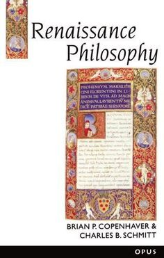 Renaissance Philosophy (History of Western Philosophy)