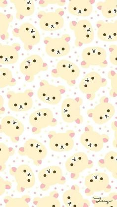 In the mood for a new cellphone wallpaper? Here you have some of my favorite Kawaii wallpapers you can use for free. Phone Wallpaper Images, Cute Wallpaper For Phone, Bear Wallpaper, Disney Wallpaper, Pattern Wallpaper, Iphone Wallpaper, Screen Wallpaper, Unique Wallpaper, Wallpapers Kawaii