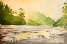 Sun Rising over Corbett National Park by BohemianBacchante on Etsy