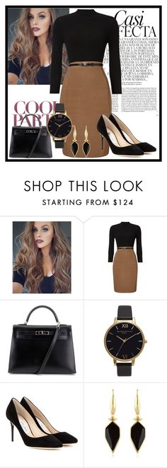 """""""#405"""" by glitterunicorns-are-awesome ❤ liked on Polyvore featuring Phase Eight, Hermès, Olivia Burton, Jimmy Choo, Isabel Marant and Whiteley"""