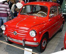 Fiat 600 - Wikipedia, the free encyclopedia