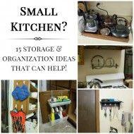 Small Kitchen Storage And Organization Ideas