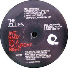 The Jellies - Jive Baby On A Saturday Night