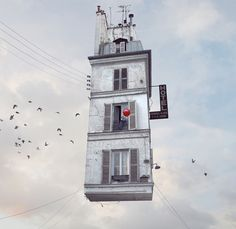 Heres What It Would Look Like If Paris's Houses Could Fly - Henry Grabar - The Atlantic Cities