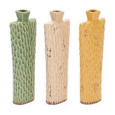 Set of 3 Montpellier Ceramic Vases