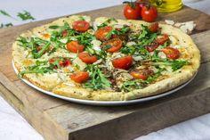 Pizza Italienne tomates parmesan roquette-6
