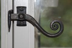 Pope window latches by Tom Fell - Blacksmith