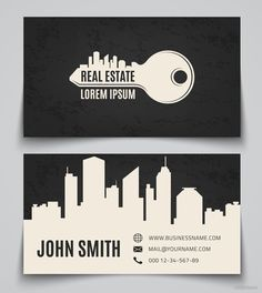 Real estate business cards business card templates for keller 40 creative real estate and construction business cards designs reheart Images