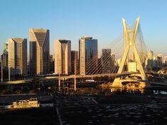 Ponte Octávio Frias de Oliveira - São Paulo, SP