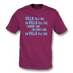 Villa Till I Die (Aston Villa Chant)