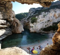 Croatia , stiniva beach, vis