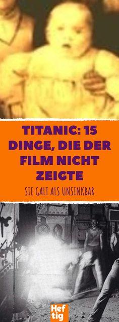 Titanic: 15 Dinge, die der Film nicht zeigte #emotionales Stress, Tricks, Movie Posters, Magic, Random, Movies, Good To Know, Reading, Movie Facts