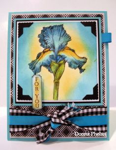 Gina K Designs, Stately Flowers 8, illustrated by Melanie Muenchinger.