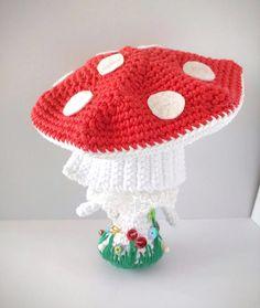 Muñeca de ganchillo Amanita /Crochet doll
