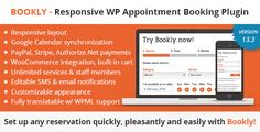 Bookly Booking Plugin – Responsive Appointment Booking and Scheduling - CodeCanyon Item for Sale