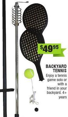 from Entropy Christmas Catalogue 2014 -when has backyard tennis not been a winner?