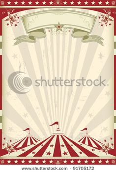 Vintage Carnival Backdrop
