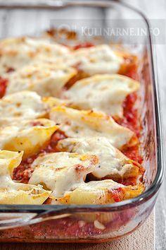 Polish Recipes, Lasagna, Tapas, Dinner Recipes, Food And Drink, Cooking Recipes, Snacks, Ethnic Recipes, Pierogi