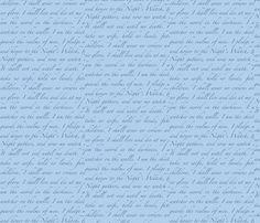 Night's Watch Oath fabric by briggszilla on Spoonflower - custom fabric