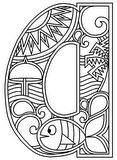 Download, print, color-in, colour-in lowercase a
