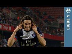 But Edinson CAVANI (45' +2) - Valenciennes FC - Paris Saint-Germain (0-1 - 2013/2014