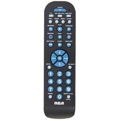 RCA 3 Device Universal Remote Control RCR3273 by RCA. $5.77. This 3 device universal remote can control up to three components and works with over 350 brands. It comes with a broad DVD and DVR functionality for satellite or cable or digital converter box, including skip back, skip forward and slow play keys. It comes in black with a contemporary thin design.. Save 42%!