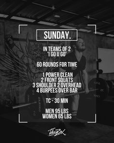 Crossfit Workouts At Home, Wod Workout, Buddy Workouts, Crossfit Gym, Crossfit Barbell, Team Wod, Spartan Race Training, Full Body Workout Routine, I Work Out