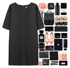 """""""Shell"""" by akp123 ❤ liked on Polyvore featuring Non, Zara, Essie, Living Proof, Falke, Narciso Rodriguez, NARS Cosmetics, philosophy, Morgan Collection and Revolver"""