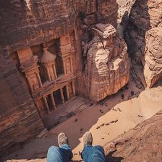 Follow @TravLink for the most beautiful travel destinations! @TravLink Petra Jordan | Photography by @ovunno by theglobewanderer