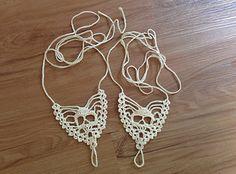 Skull Barefoot Sandals free crochet pattern - 10 Free Crochet Skull Patterns - The Lavender Chair