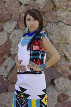 Amber Sekakuku, Hopi Model from the American Southwest