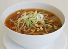 Soybean sprout soup (kongnamulguk) - Vegetarian if you leave out the dried anchovies
