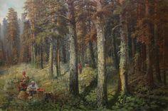 Григорьев Николай Николаевич (1901–1979) «В лесу» 1938