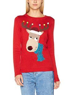 e240b50e19e80 Yumi-Womens-Christmas-Moose-Jumper www.directfromstore.online