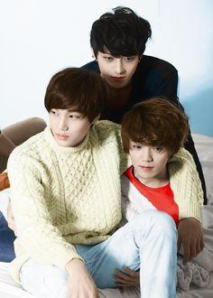 Tao, Luhan and Kai