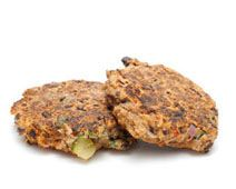 Baja Black Bean Cakes with Spicy Sweet Potato Sauce Healthy, Organic Food from Simply Organic