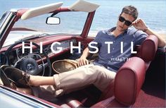 Yossi Michaeli  photographs Alexandre Cunha on a relaxed day for Highstil's spring-summer 2017 campaign.