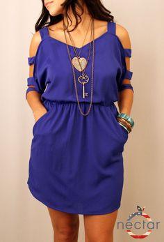 Cobalt Bleu Dress $37.50