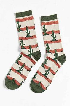 Cactus Sock - Urban Outfitters