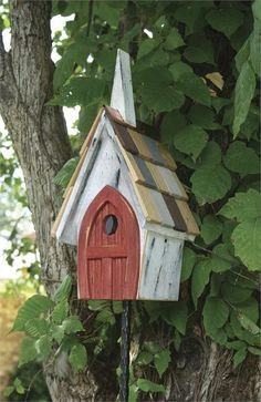 Heartwood Flock of Ages Bird House