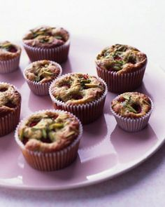 """See the """"Pistachio-Raspberry Tea Cakes"""" in our Baby Shower Tea Party Recipes gallery"""