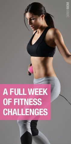Here is a week full of workout challenges you need to try!