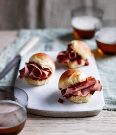 Australian Gourmet Traveller recipe for baloney sandwiches by Acme in Sydney. Wrap Recipes, Chef Recipes, Italian Recipes, Best Sandwich, Sandwich Recipes, Mortadella Sandwich, Sandwiches, Potato Bread, Recipe Search