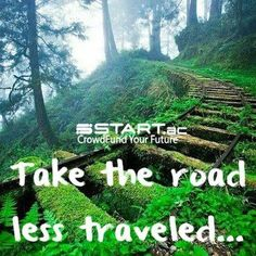"""""""Do not go where the path may lead, go instead where there is no path and leave a trail."""" https://apps.facebook.com/startacapp #crowdfunding"""