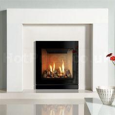 Gazco Riva2 530 Designio 2 Glass Balanced Flue Gas Fire